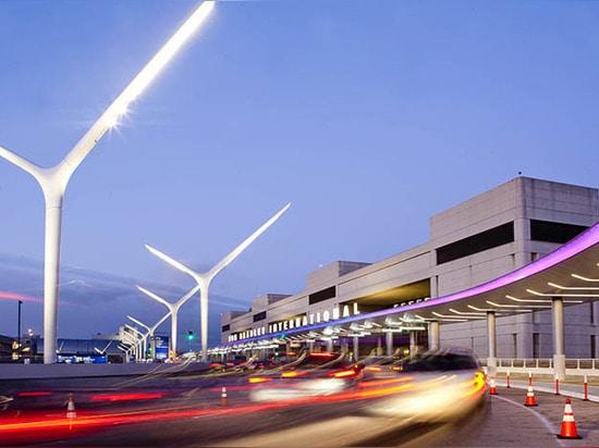 LAX entrance