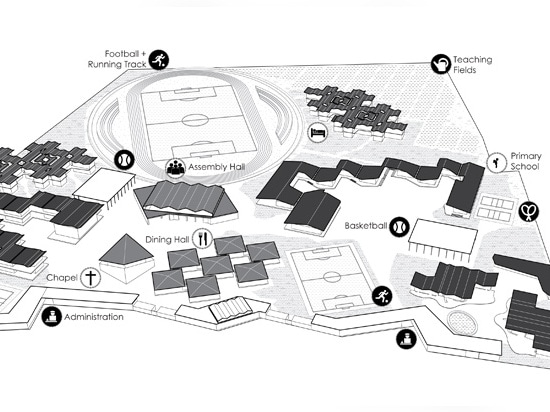 the legacy campus site plan