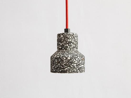 'terrazzo' chandelier by bentu design