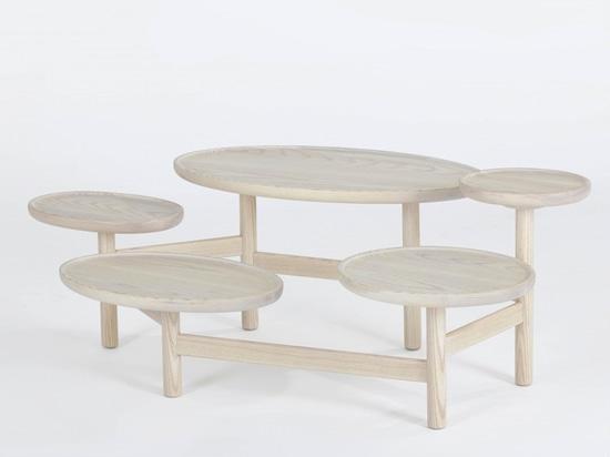 'valentine' table by yuan yuan studio