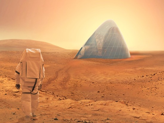 This 3D-printed space igloo just won NASA's Mars habitat competition