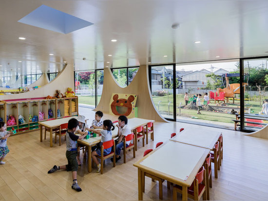 the nursery is built on a philosophy of a play-based education, encouraging children to develop their thinking actively