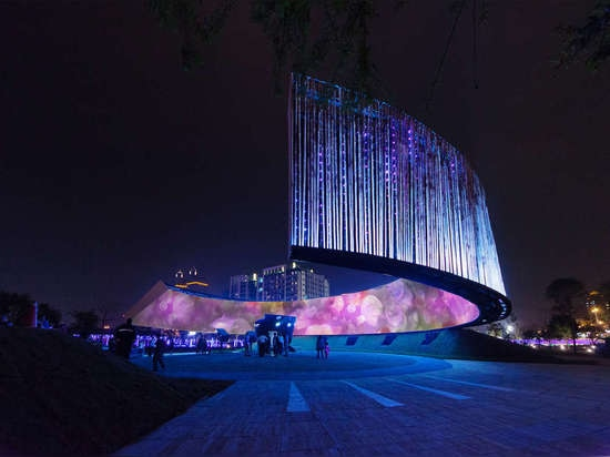 Ring of Celestial Bliss by J.J. Pan and Partners, Hsinchu City, Taiwan