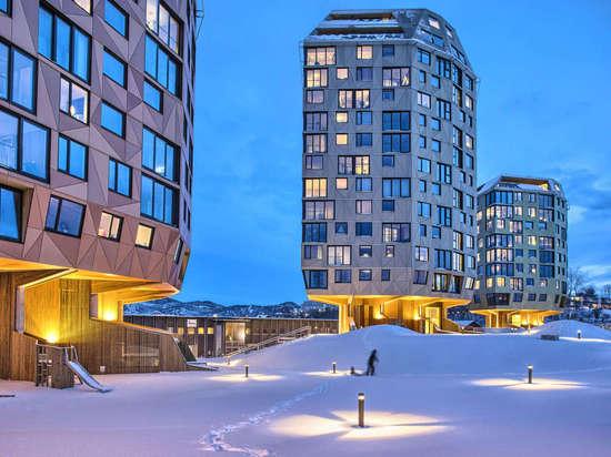 Rundeskogen by Helen and Hard, Sandnes, Norway