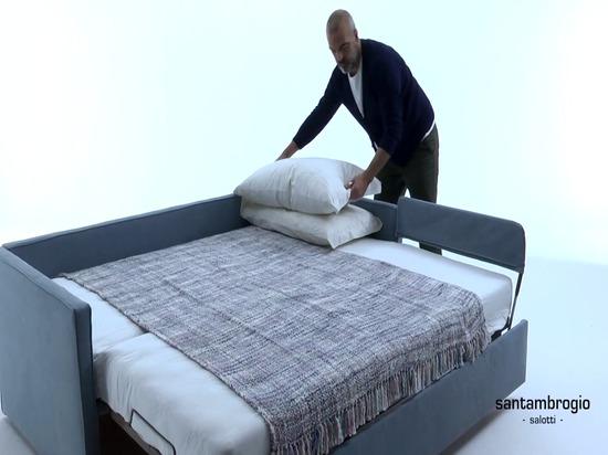 Estraibile trundle bed