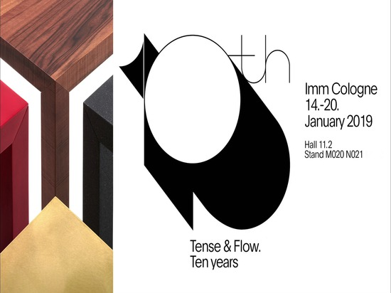 Imm Cologne 2019: let's celebrate Tense and Flow together!