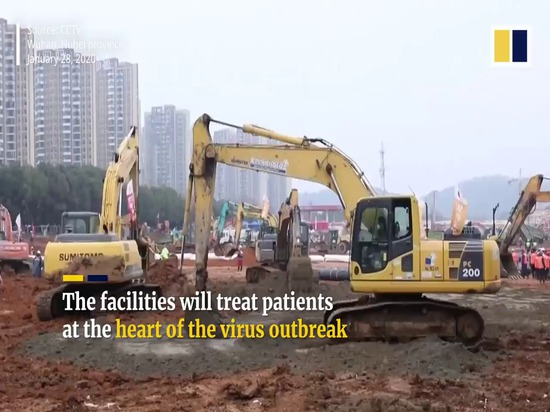 China Is Building a 1,000-Bed Prefab Hospital in 10 Days to Shut Down the Coronavirus