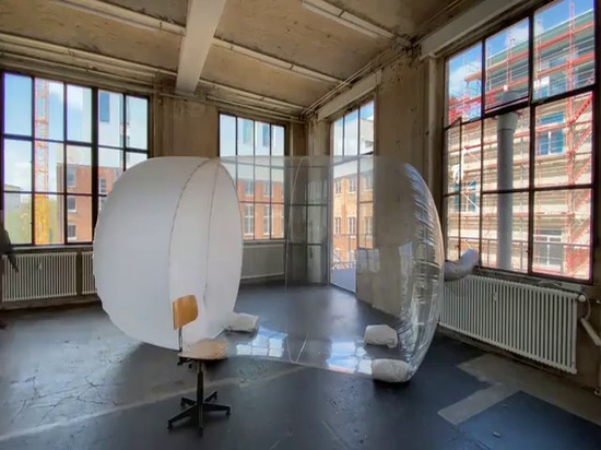 Plastique Fantastique's mobile personal protective space fights COVID-19