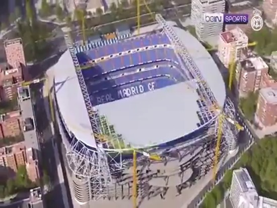 Real Madrid unveils Bernabeu's new look after whopping £500 million revamp