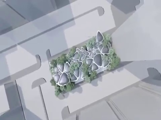"""""""Oasys + System ,The Artificial Breathing Palm Modular Structure """""""