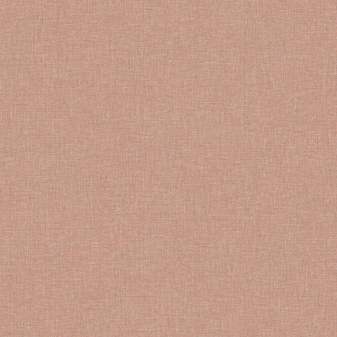 コンテンポラリー壁紙 無地 茶色 黄色 Rhubarb Red Eco