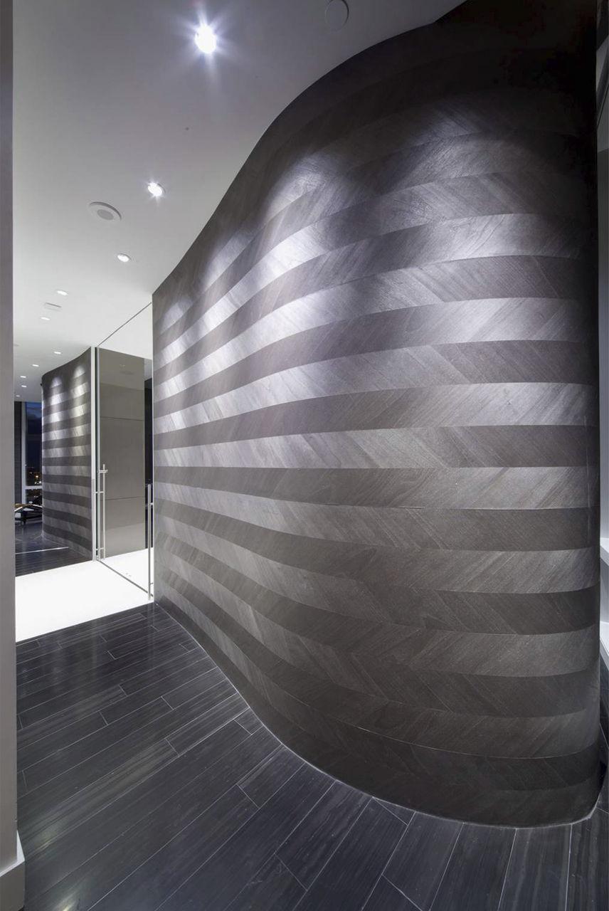 伝統的壁紙 木 無地 木材風 Ajiro Chevron Maya Romanoff