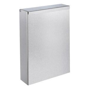 衛生ゴミ箱 / 壁掛け式 / ステンレススチール製 / 業務用