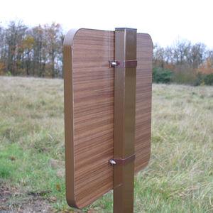 スタンド式看板 / 木製 / 方向の / 屋外用