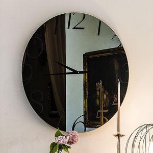 コンテンポラリー時計 / アナログ / 壁掛け / ガラス製