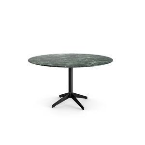 コンテンポラリーテーブル / 漆木材 / ガラス製 / 大理石