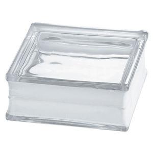 ガラス製敷石