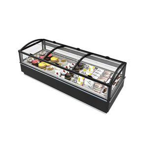 ブロック冷蔵陳列ケース / 照光式 / 冷凍食品 / 店用