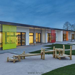 複合素材日射遮蔽 / HPL / 建物の正面用 / 縦型
