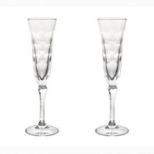 クリスタル製シャンパングラス