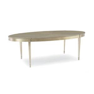 伝統的食卓テーブル / 楓材製 / 漆塗り金属製 / カエデ材製