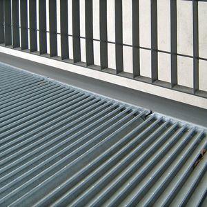 亜鉛めっき鋼製踏み板 / ステンレススチール製 / ゲートウェイ用 / 屋外床用