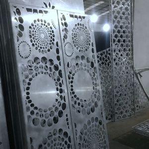 穴あきシ-トメタル / 装飾 / アルミニウム製 / 屋内用