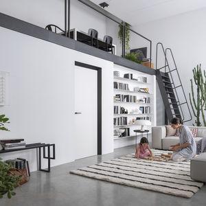 室内ドア / スイング式 / 陽極酸化アルミ製 / 公共施設用
