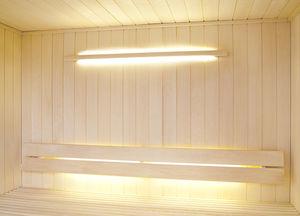 コンテンポラリー壁面ライト / サウナ用 / ガラス製 / ハロゲン式