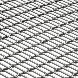 建物の正面用ワイヤーメッシュ / 日射遮蔽用 / 壁用 / ステンレススチール製