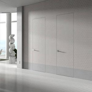 室内ドア / スイング式 / 木製 / フラッシュ