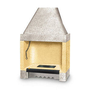 薪開放式暖炉