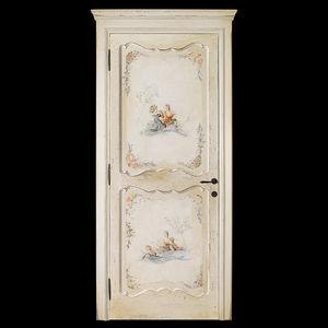 室内ドア / スイング式 / 木製 / 無釉