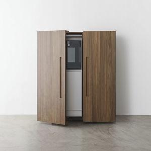 コンテンポラリーキッチン用戸棚 / 木製