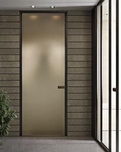 室内ドア / スイング式 / アルミ製 / ラミネート状
