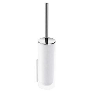 クロムメッキ金属トイレ用ブラシ / ガラス製 / 壁上 / ホテル用