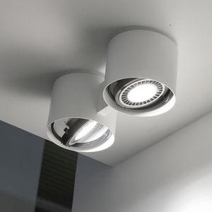 天井取付け式スポットライト / LED / 円形 / アルミニウム