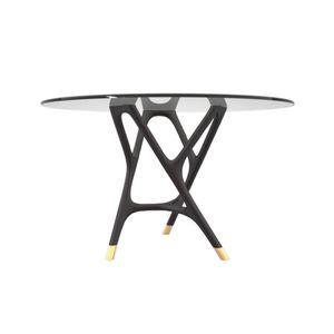 コンテンポラリーテーブル / ソリッド ウッド(無垢材) / トネリコ材 / トネリコ製