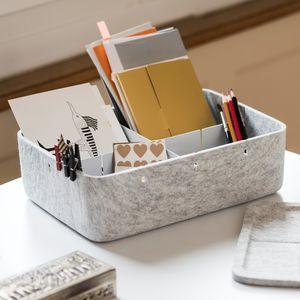 boîte de rangement pour fourniture de bureau