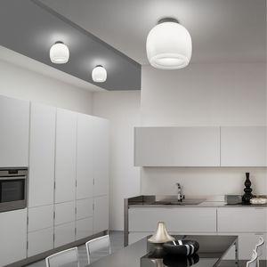 コンテンポラリーシーリングライト / 円形 / クリスタル製 / LED