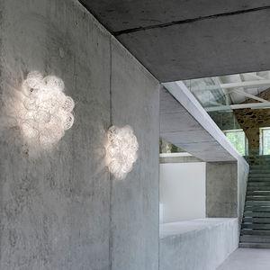 オリジナルデザイン壁面ライト / ステンレススチール製 / 白熱 / 白
