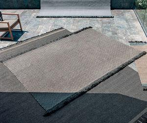 コンテンポラリー絨毯 / 無地 / ポリプロピレン製 / 長方形