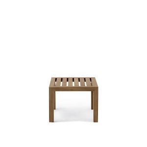 コンテンポラリーコーヒーテーブル / チーク材 / 正方形 / ガーデン用