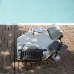 ガーデン用ソファー / モジュール式 / コンテンポラリー / 受付用