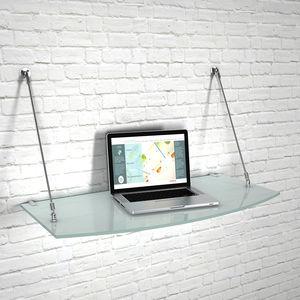 壁取り付け式棚 / コンテンポラリー / ガラス製 / 店用