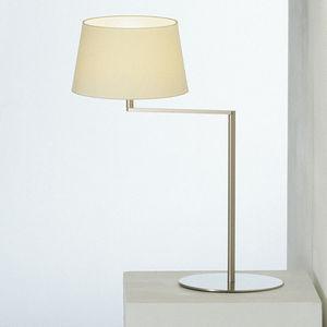 台用ライト / コンテンポラリー / 金属製 / 麻製