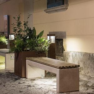 公共ベンチ / コンテンポラリー / 木製 / 鉄筋コンクリート製
