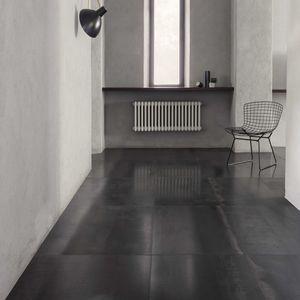 屋内用タイル / 床 / 金属製 / 長方形