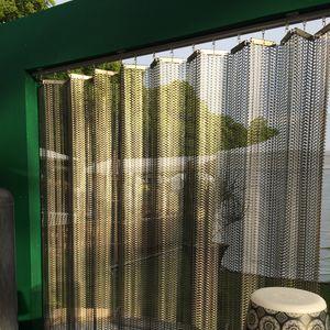 建物の正面用ワイヤーメッシュ / 屋内用 / 日射遮蔽用 / 天井用