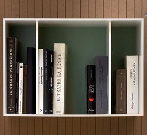 壁掛け棚 / モジュール式 / コンテンポラリー / 木製
